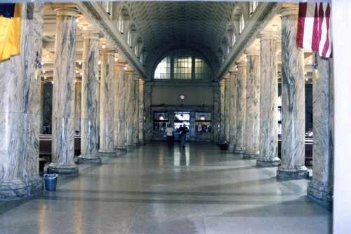 Railroad Station Interior #2, September 2006